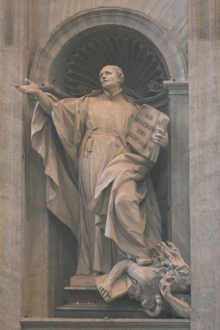 Saint Ignatius Loyola 1491- 1556.
