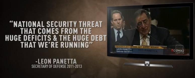Panetta blames Democrat Military budget cuts.