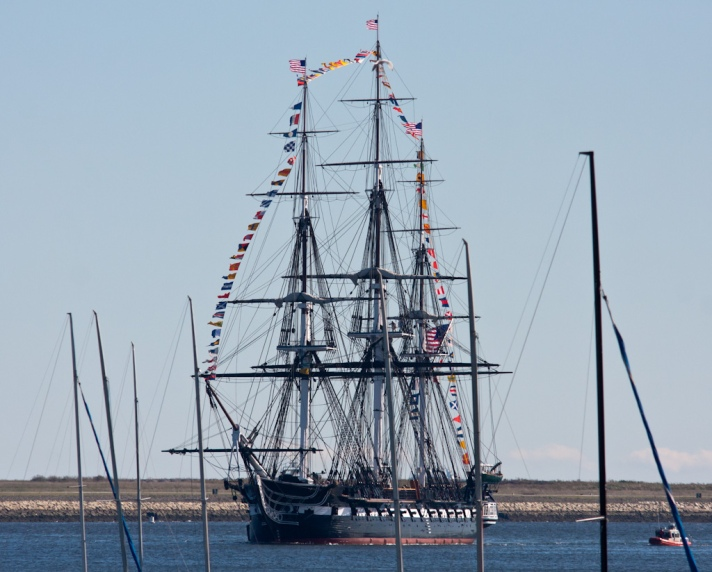 USS Constitution: USS means United States Ship
