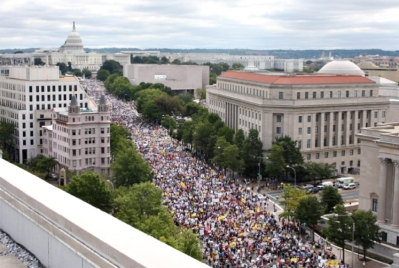 The Non-Existent March Onto The White House. 9/12/2009