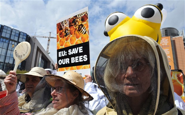 "President Putin Cracks Down On Rothschild Goons John Kerry & Barry Soetoro: Monsanto's ""Bee Apocalypse"". Baz3"