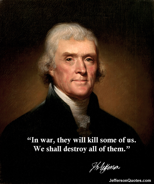President Jefferson War