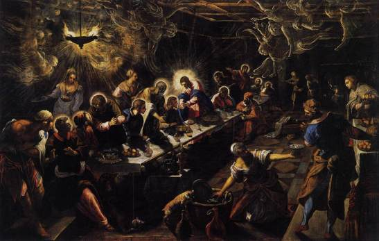 The Reset: Exorcism Of The New World Order ~ The Laudato Si. Jacopo_tintoretto_-_the_last_supper_-_wga22649