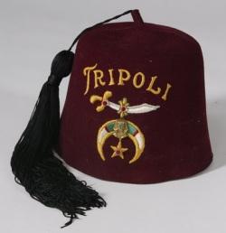 tripoli masonic hat