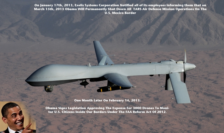 Obama Drone Air Defense Mexico