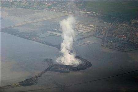 NWO Cabal's BP Destruction Of Indonesia. Sidoarjo, Indonesia