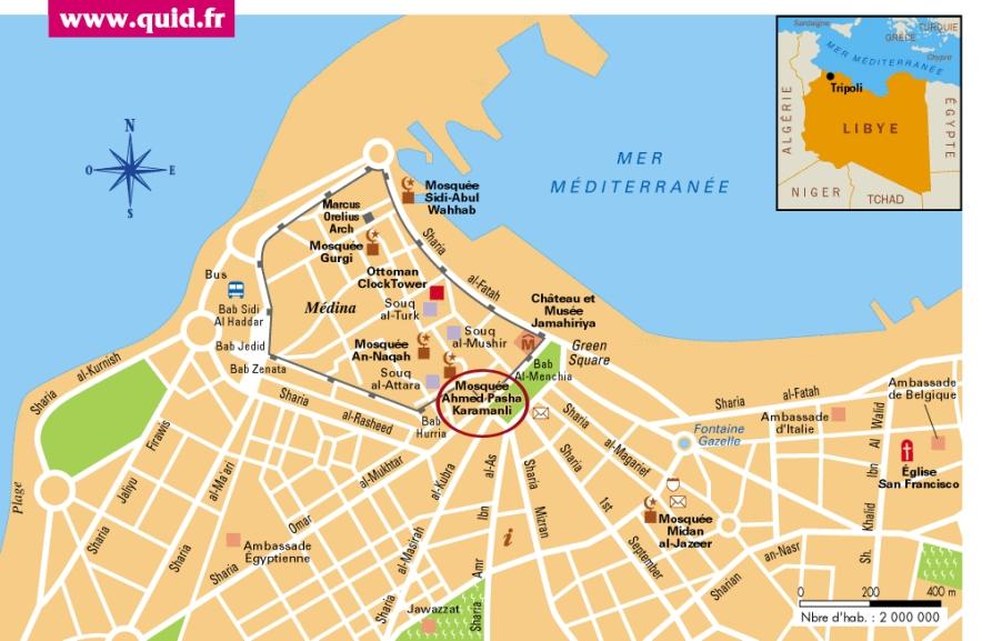 Tripoli-Map