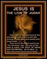 JESUS IS THE LION OF JUDAH