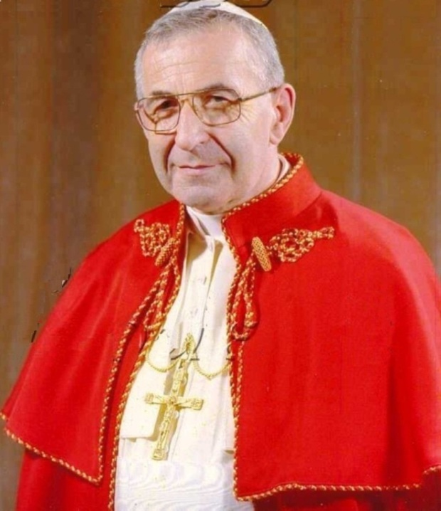 Pope John Paul I Pope John Paul I Died Within 33 Days Of His Papacy. 33 Was The Age Of Our Lord When He Was Crucified.