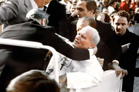 Pope John Paul II Shot 1981