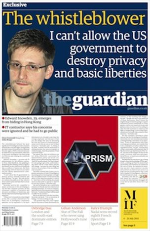 U.S. Patriot Edward Snowden a former CIA computer technician went public on Sunday as the source behind the daily drumbeat of disclosures about the nation's surveillance programs, saying he took the extraordinary step because