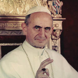 Pope Paul VI ~ Known By Some As The Gorilla.
