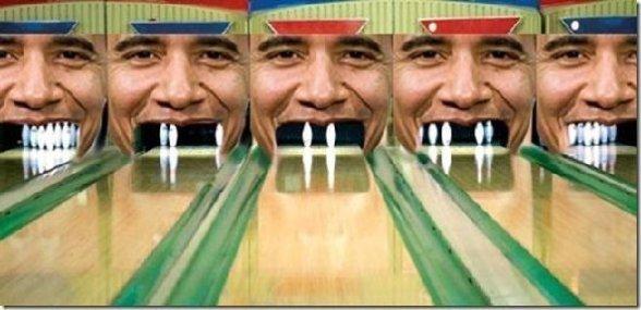 Obama Bowling