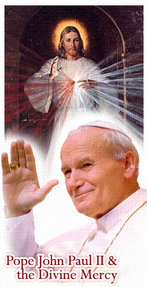Roman Catholic Popes Have All Denounced Free Mason's New World Order: If You Believe Otherwise You're A Victim Of The Banker's Propaganda? Divine-mercy-pope-john-paul-ii