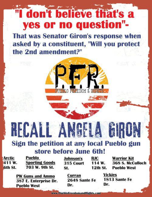 Gun Colorado Recall