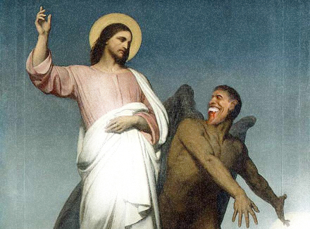 Jesus & Obama