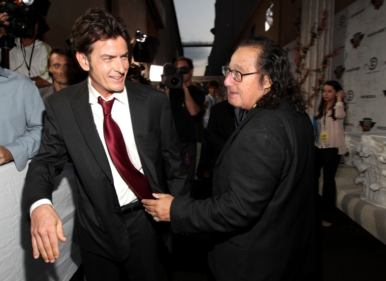 Charlie Sheen & Ron Jeremy Kissinger