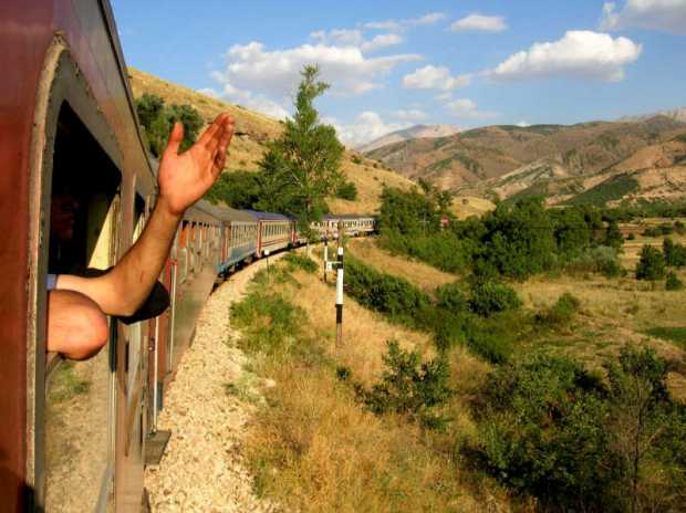 Riding The Train In Kurdistan