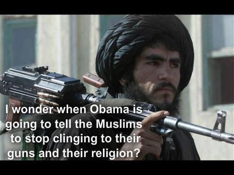 U.S. Constitution Closing In On Barack Obama: Barry Soetoro's Identity Fraud. Muslims-guns-and-religion