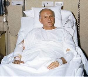 Pope John Paul II Recovering From Surgery.