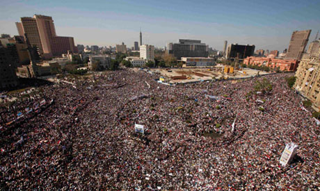 Egyptians revolt against Morsi Muslim Brotherhood.
