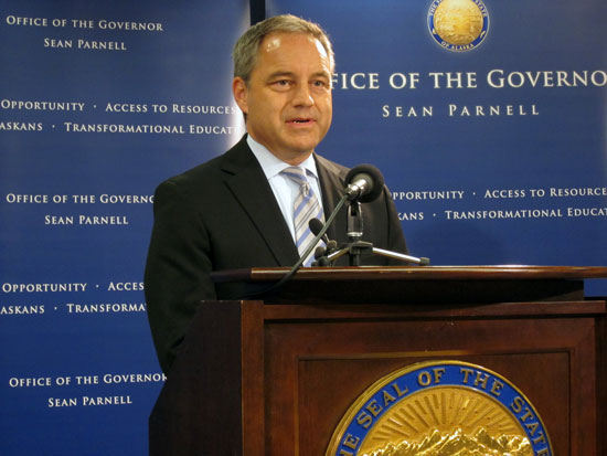 Governor Parnell For The State Of Alaska