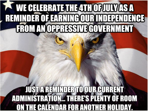 Freedom Eagle 4th of july