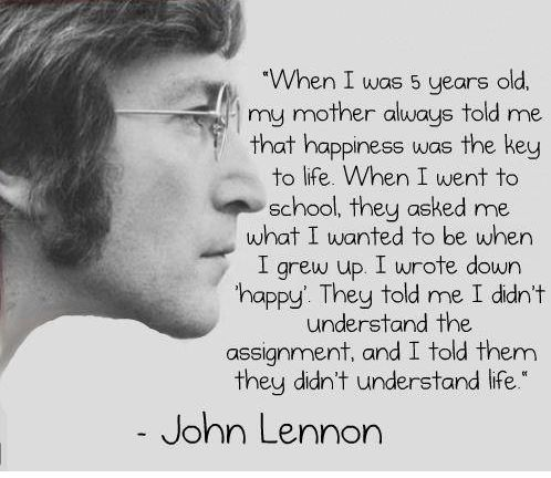 happy lennon