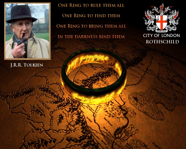 AMERICAN PSYCHOLOGICAL ASSOCIATION & ILLUMINATI COERCION: PLAYING BOTH SIDES OF DARWIN! Rothschild-tolkien-lord-of-the-rings