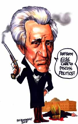 Sociopathic Western Central Planners Creating Hell On Earth! Andrew_jackson-takes-on-the-rothschilds