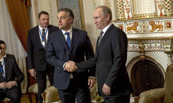 Hungary's Orban & Russia's Putin