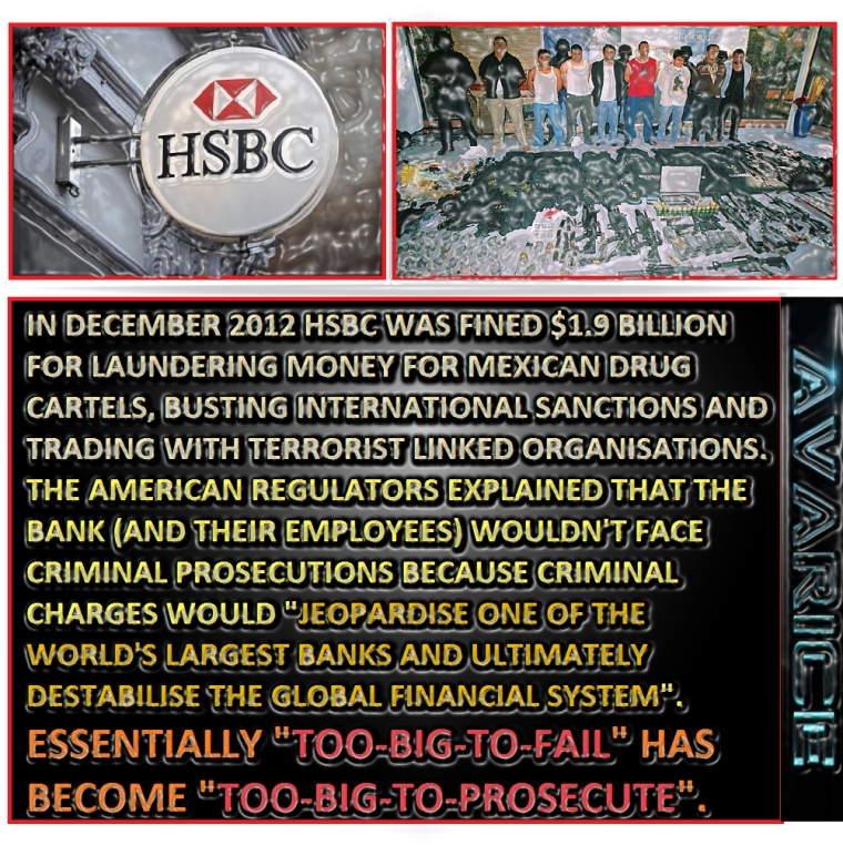 HSBC Mexican Drug Cartels