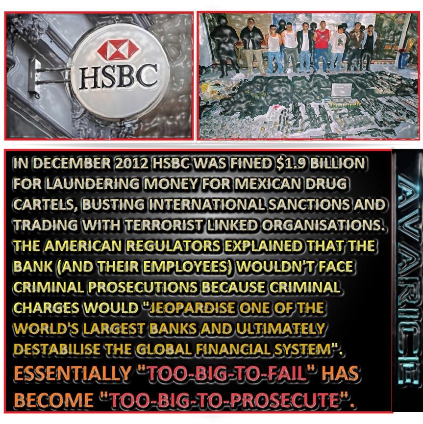HSBC Mexican Drug Cartels