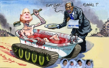 McCain's CIA ISIS Responsible For 600 Acts Of Terrorism In Syria