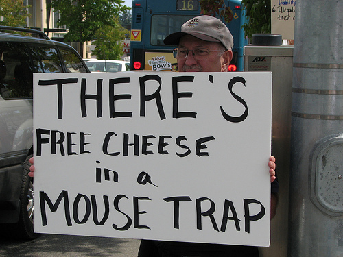 cheese mouse trap