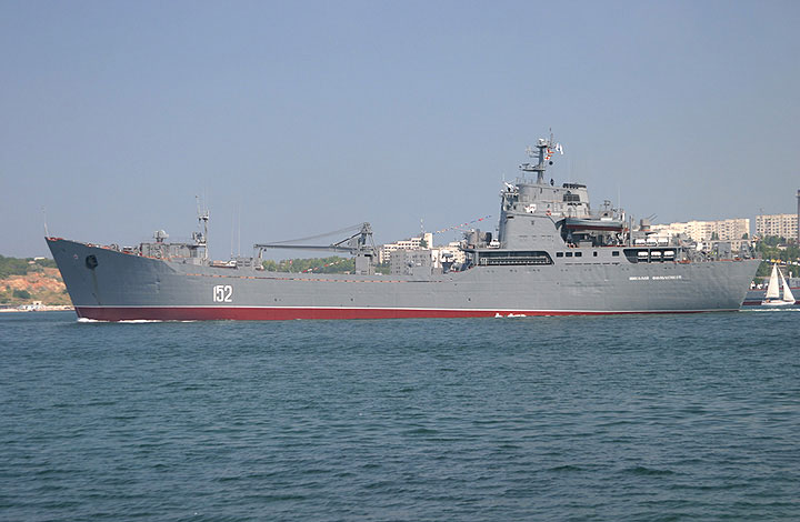 """This Filchenkov is the naval """"landing"""" ship for Russia."""
