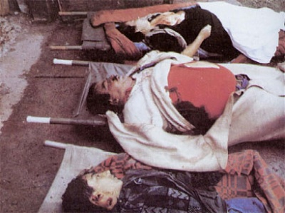 Why didn't we see these photos of murdered Christians before Bill Clinton chose to support the Muslims in Bosnia?