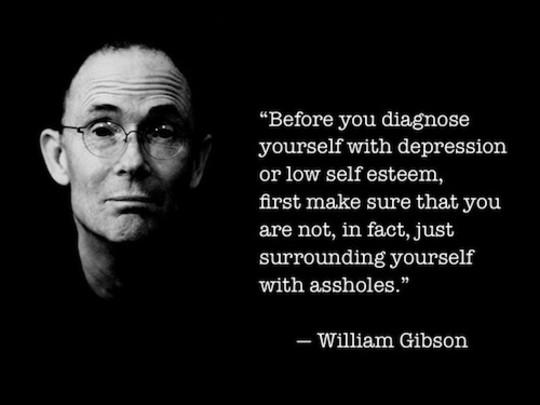 Gibson depression assholes
