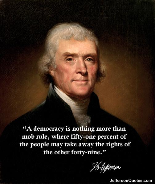 Jefferson democracy