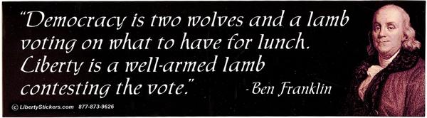 democracy Franklin