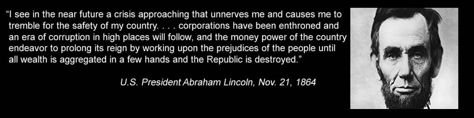 Mandatory 2014 Debt Forgiveness: Rothschild Federal Reserve Absconding/Transferring U.S. Precious Metals Using Artificial Gold/Silver Derivative Paper! Lincoln-debt