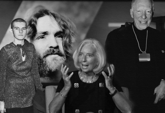 Patricia Krenwinkel, Charles Manson, Christine Lagarde, Jaco Rothschild. What is a man doing with $trillions to his own name? Does antitrust come to mind?