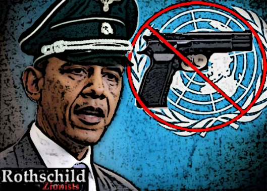 obama u.n. gun treaty zionist