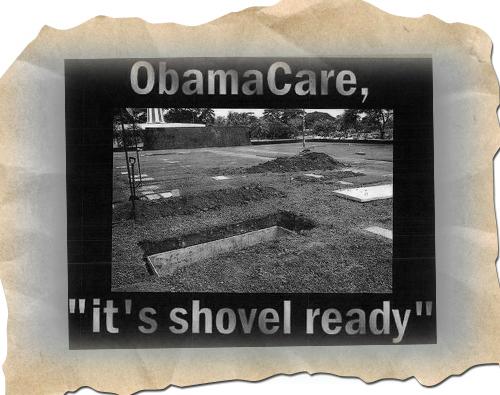 Obamacare Shovel