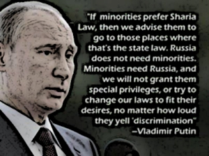 Putin Minority immigration