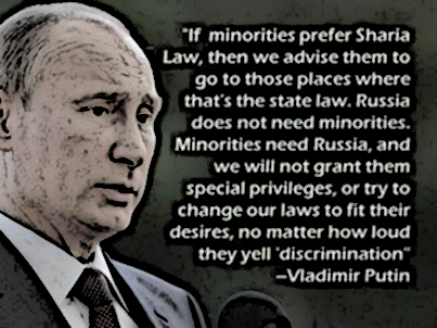 Putin Minority immigration