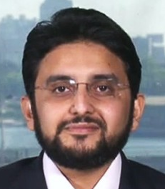 Banker's Gehad El-Haddad of the political group Muslim Brotherhood