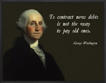 Washington debt small