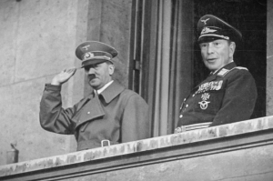Hitler & Bloomberg. Previous Mayor Bloomberg.  Preparing the fertile field for Rothschild communism.