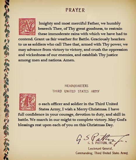 Patton Prayer